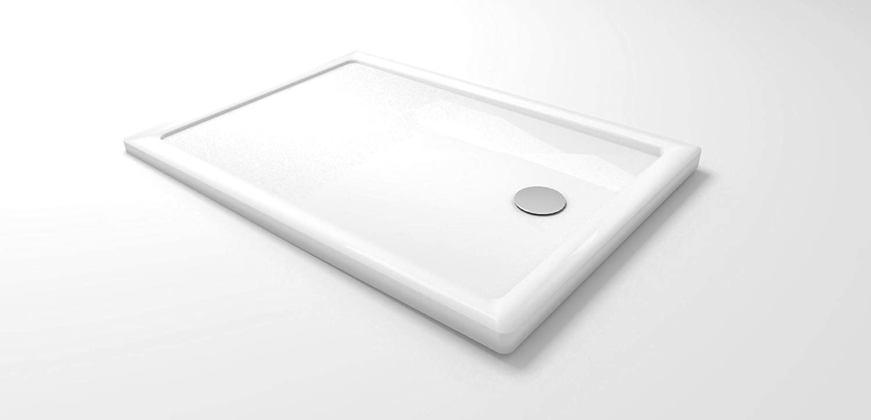 Receveur de douche 75x160x4 rectangle acrylique mod UltraFlat