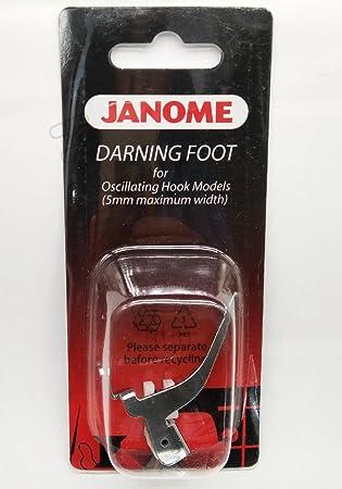 Amazon honeysew darning foot p oscillating hook model for honeysew darning foot p oscillating hook model for janome 200127000 5mm maximum width fandeluxe Choice Image