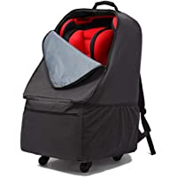 Car Seat Bag with Wheels, Baby Car Seat Travel Carseat Cover Backpack Bag, Infant Carriers Booster Cover Protector for…