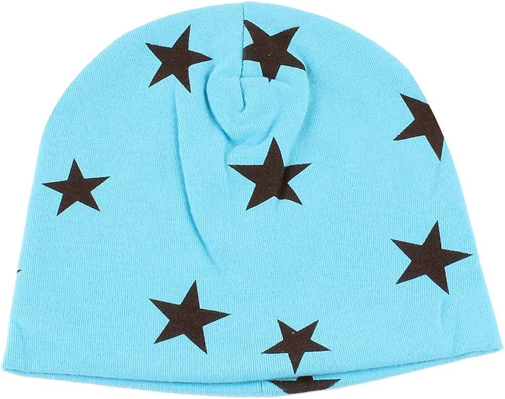 chinatera Children Kids Winter Warm Cap Baby Beanie Infant Boys Girls Soft Hat with Dotted Star