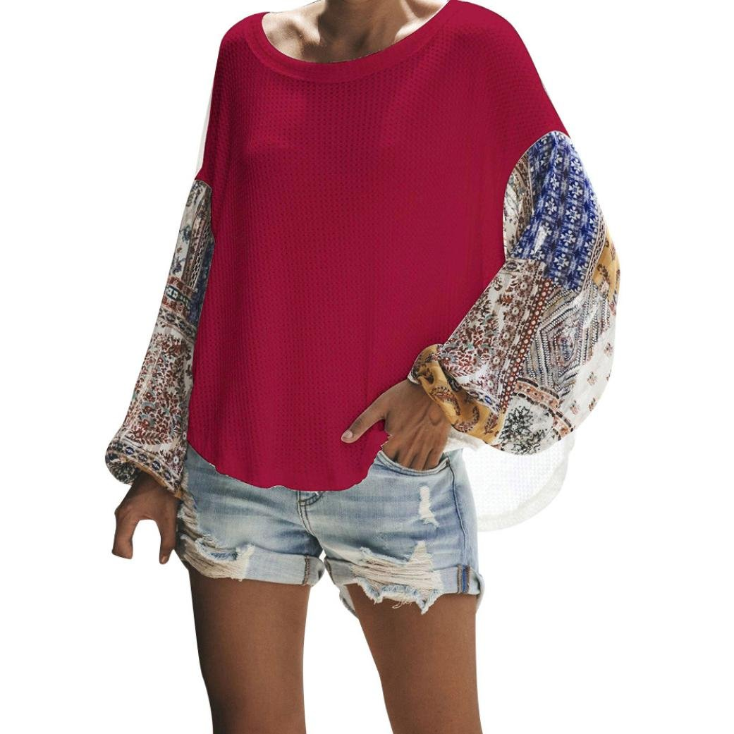 iQKA Women Casual Loose Off Shoulder Shirt Boho Batwing Long Sleeve Knit Sweater Tops iQKA0712