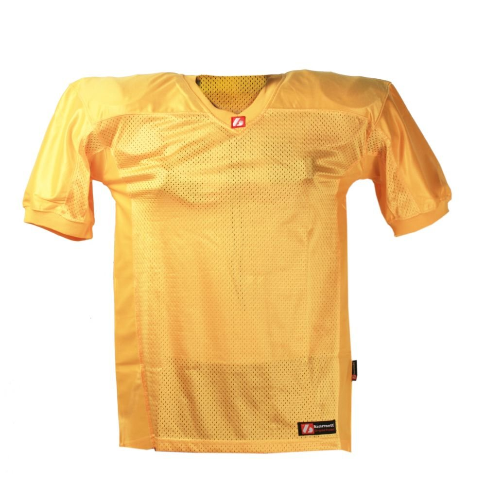 FJ-2 football jersey match, light gold barnett