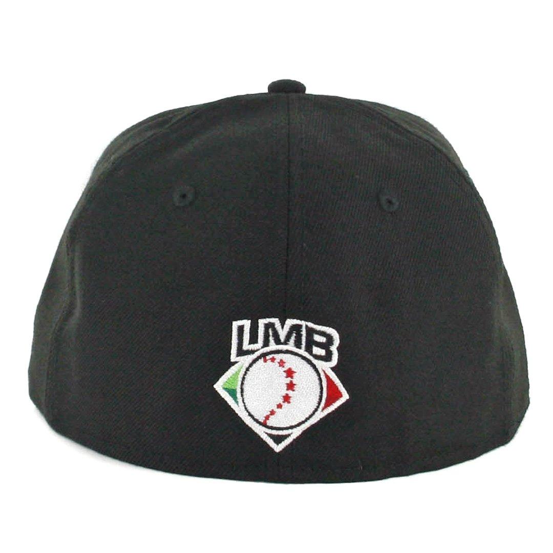 eb956c7976f New Era 59Fifty Toros de Tijuana TJ Fitted Hat (Black) LMB Mexico Baseball  Cap at Amazon Men s Clothing store