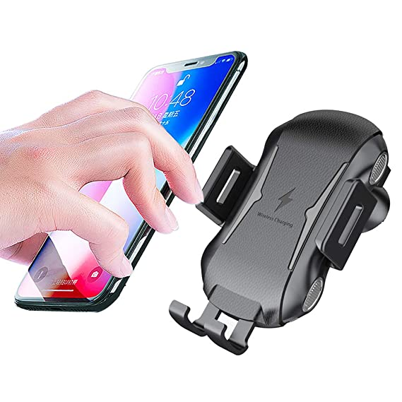 Wireless Car Charger with Automatic Sensor Qi 10W Fast Wireless Charger Car Mount /& Holder Compatible for Samsung Galaxy Note 9 S9//S9 Plus,7.5W for iPhone X//Xs//XS Max//XR//8//8 Plus All Qi-Enabled Phone Timack 4350464406