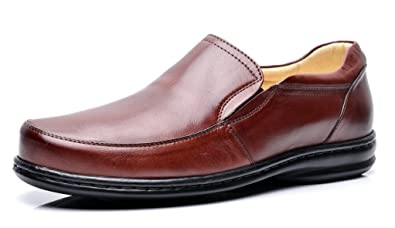 46d312121 Opananken Men s Super Care Ruffino Coffee Vegetable Tanned Sheep Leather  Loafer 7.5 M ...