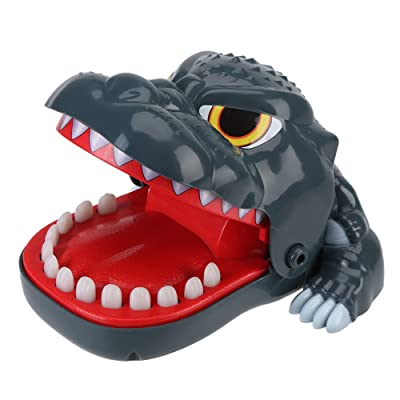 Novelty Dinosaur Mouth Bite Finger Toys Funny Interactive Game Trick Toy Kids Family Toys: Toys & Games