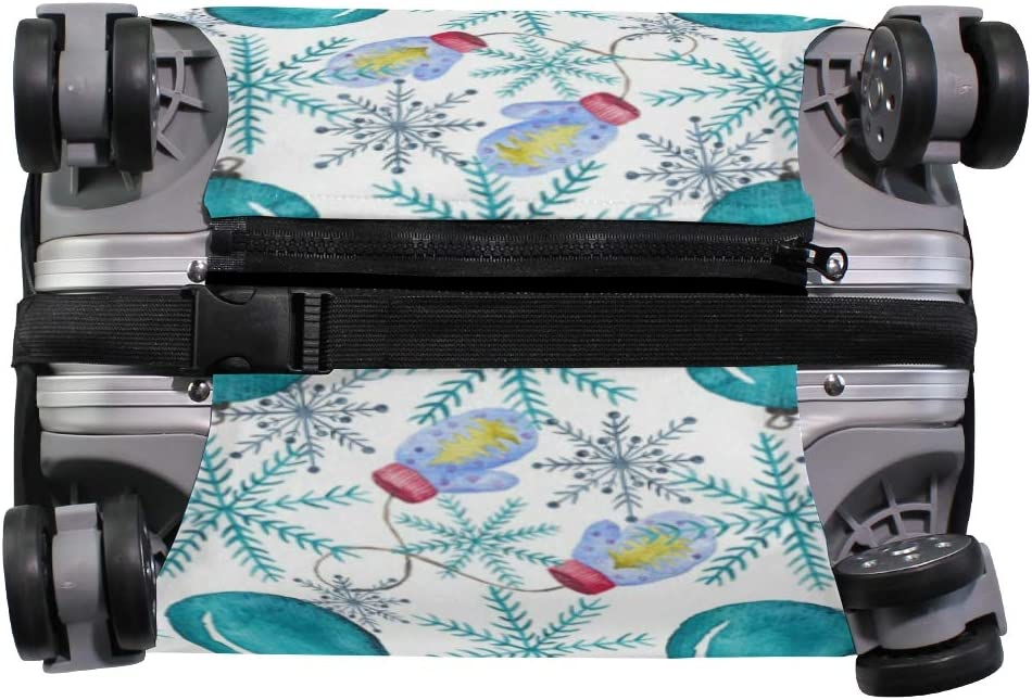 Travel Luggage Protector Christmas Balloon Snowflake Gloves Suitcase Cover Large 29 to 32 inch Fashion Baggage Covers