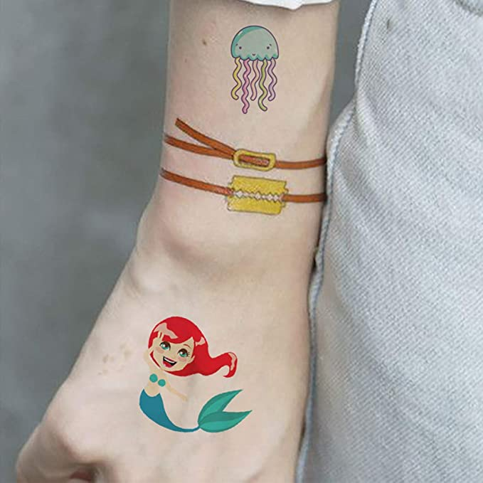 mama stadt Tattoo Stickers para niños Tatuajes temporales ...