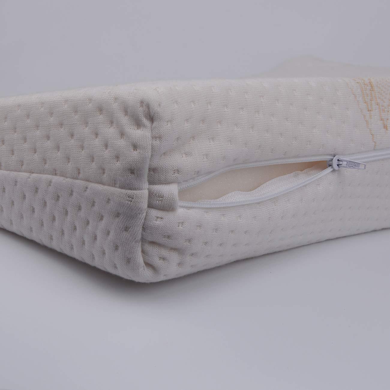 Pekies Keilkissen f/ür Babys 15/° Inclinaci/ón beige gegen Verluste hergestellt in Spanien 40 cm Ancho