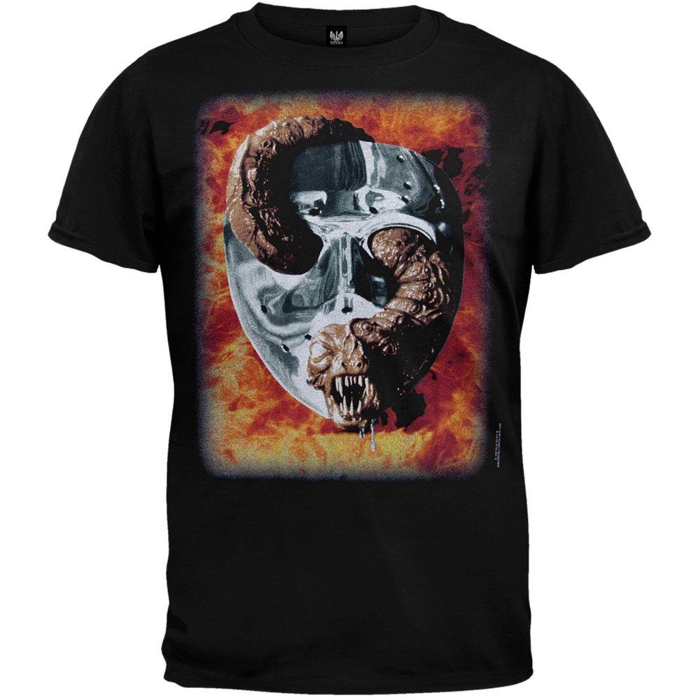 Friday The 13th - Ghost T-Shirt - Medium American T-Shirt