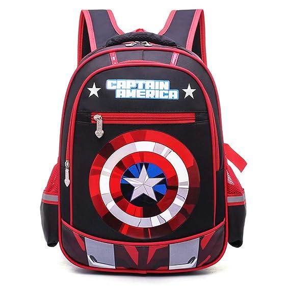 Mochilas Infantiles Escuela Infantil Mochila Adolescentes Mochilas Capitán América Para Niños Y Niñas Bolsas Escolares De 8 A 11 Años De Edad