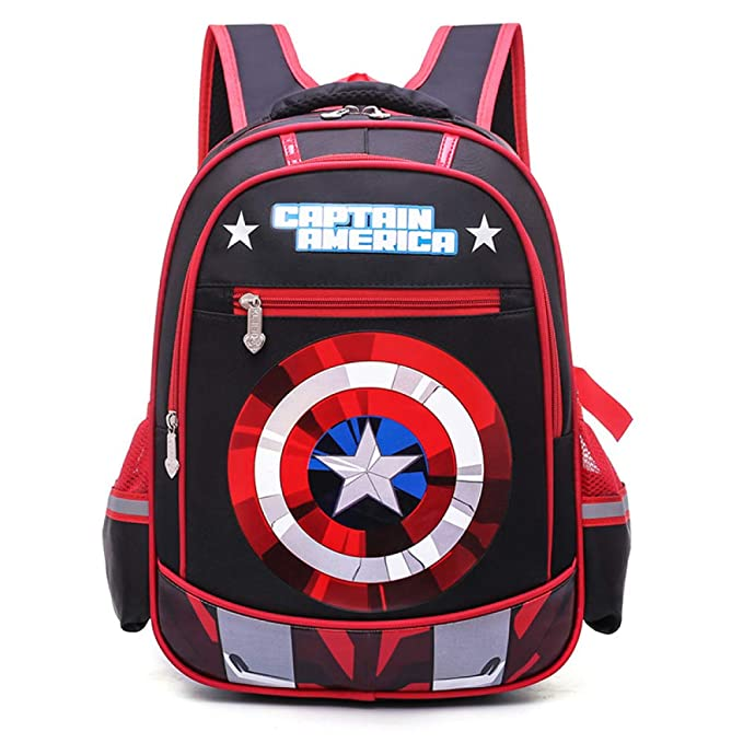 Mochilas Infantiles Escuela Infantil Mochila Adolescentes Mochilas Capitán América Para Niños Y Niñas Bolsas Escolares De
