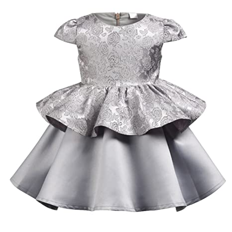 Vestido de niña princesa Party Dress Formal Fancy Baby Tutu Outfit para 1-6 años