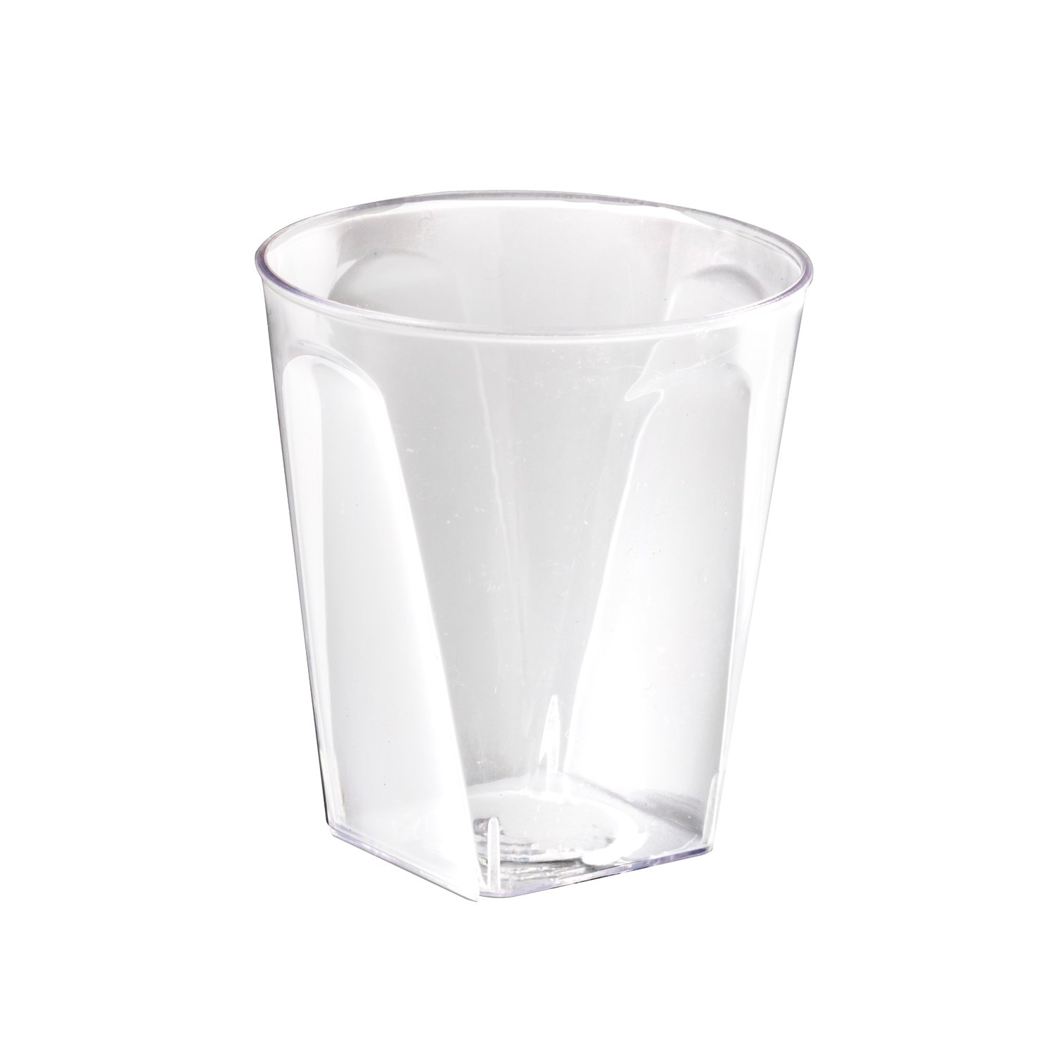Party Essentials N204021 Square Shot Glasses, 2 oz., Clear (Pack of 800) by Party Essentials