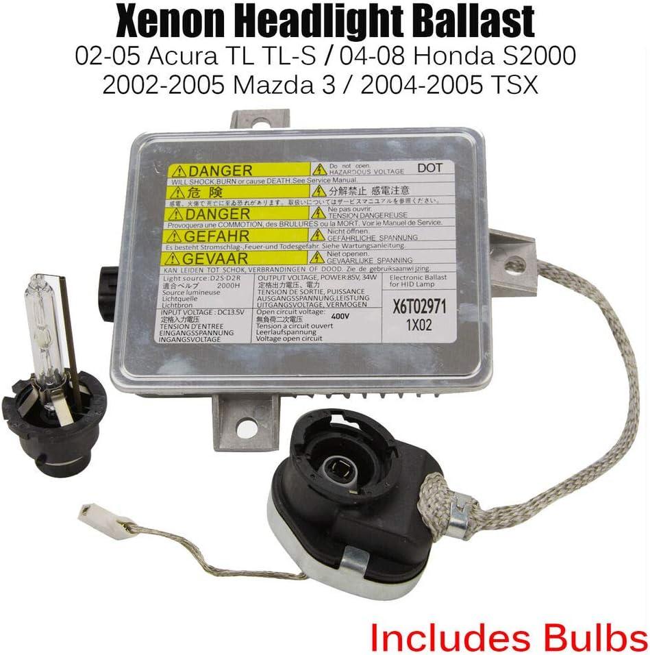 FOR ACURA TL TL-S TSX FACTORY XENON HID HEADLIGHT BALLAST /& IGNITER /& BULB