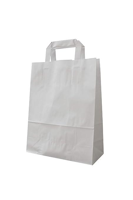 Bolsas de papel con flachhenkel