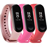 for Xiaomi Mi Band 3/Xiaomi 4 Band Bands for Xiaomi Mi Band 3/4 Smart Bracelet(Not for Xiao Mi Band 2S)