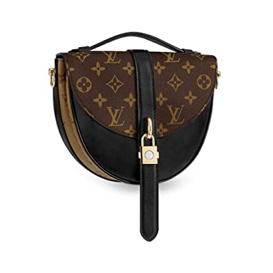 a2444b4686b6 Louis Vuitton Monogram Canvas Chantilly Lock Cross Body Handbag Noir ...