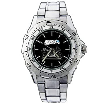 Relojes de pulsera EPSP182 Yamaha YZF R1 Motorbike Motorcycle Fast Bikes Stainless Steel Wrist Watch: Amazon.es: Electrónica