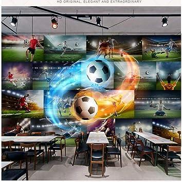 Fondo de pantalla 3D para paredes 3d fútbol llama foto papel de pared TV fondo pintura mural fondos de pantalla mejoras para el hogar decorar 110 * 140 cm: Amazon.es: Bricolaje y herramientas