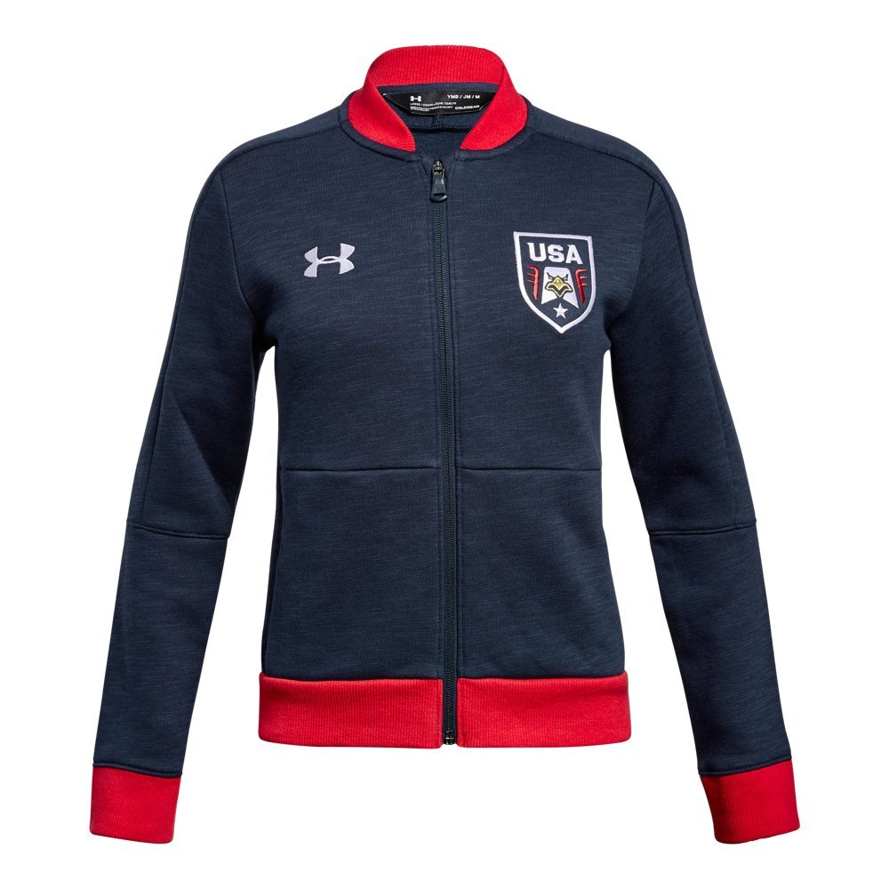 Under Armour UA Stars & Stripes Warm Up YMD Midnight Navy by Under Armour