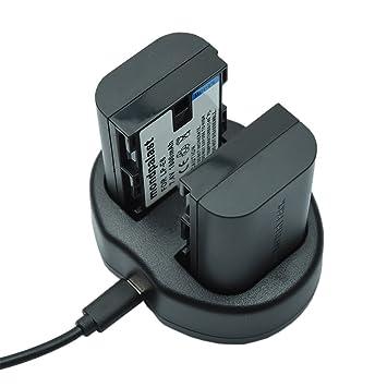 Mondpalast @ USB Cargador Doble para Canon Li-ion Batería ...