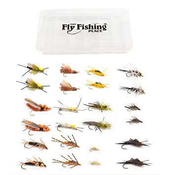 Trout Fly Assortment - 24 Essential Salmonfly, Golden