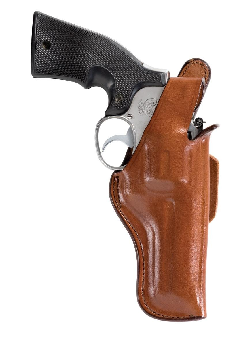 Bianchi Tan 5Bh Thumbsnap Holster Fits Ruger Gp100 4In