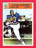 Gale Sayers 1966 Philadelphia Gum Co. Football ROOKIE Reprint Card with Original Back (Bears)