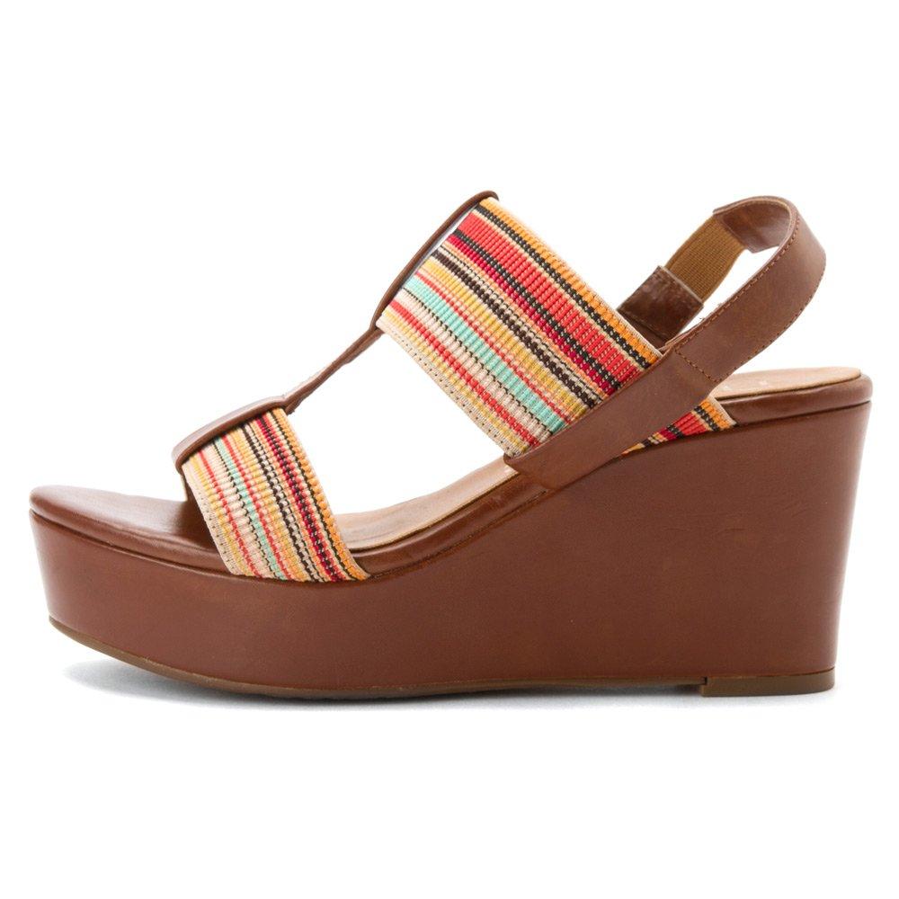 nicole Womens Dixy Wedge Sandals