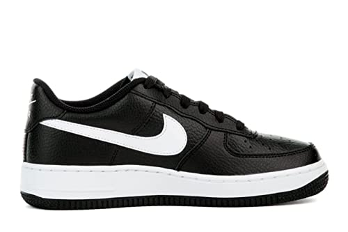 Nike Boy s Air Force 1 Low Basketball Sneaker Black White-White 4Y  Buy  Online at Low Prices in India - Amazon.in 593caaab6