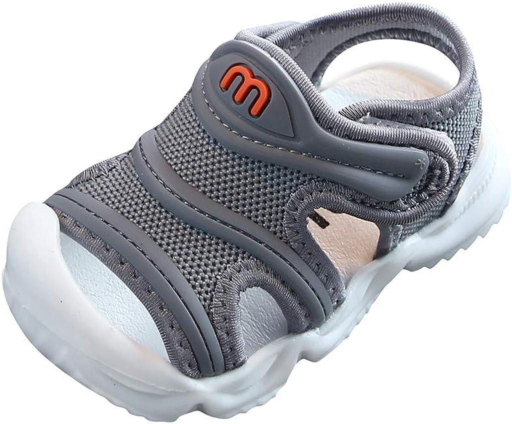 WINJIN Chaussures B/éb/é Premier Pas Sandales Enfant Chaussures Souples Plage Ete Fille Garcon Baskets Mixte Sneakers Velcro