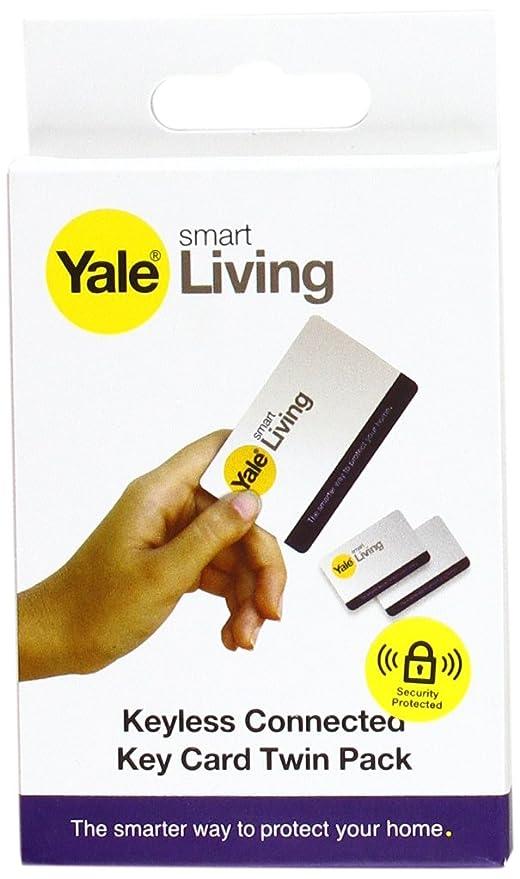 Yale Inteligente Cerradura de la Puerta Clave Tarjetas (, 2 Unidades)