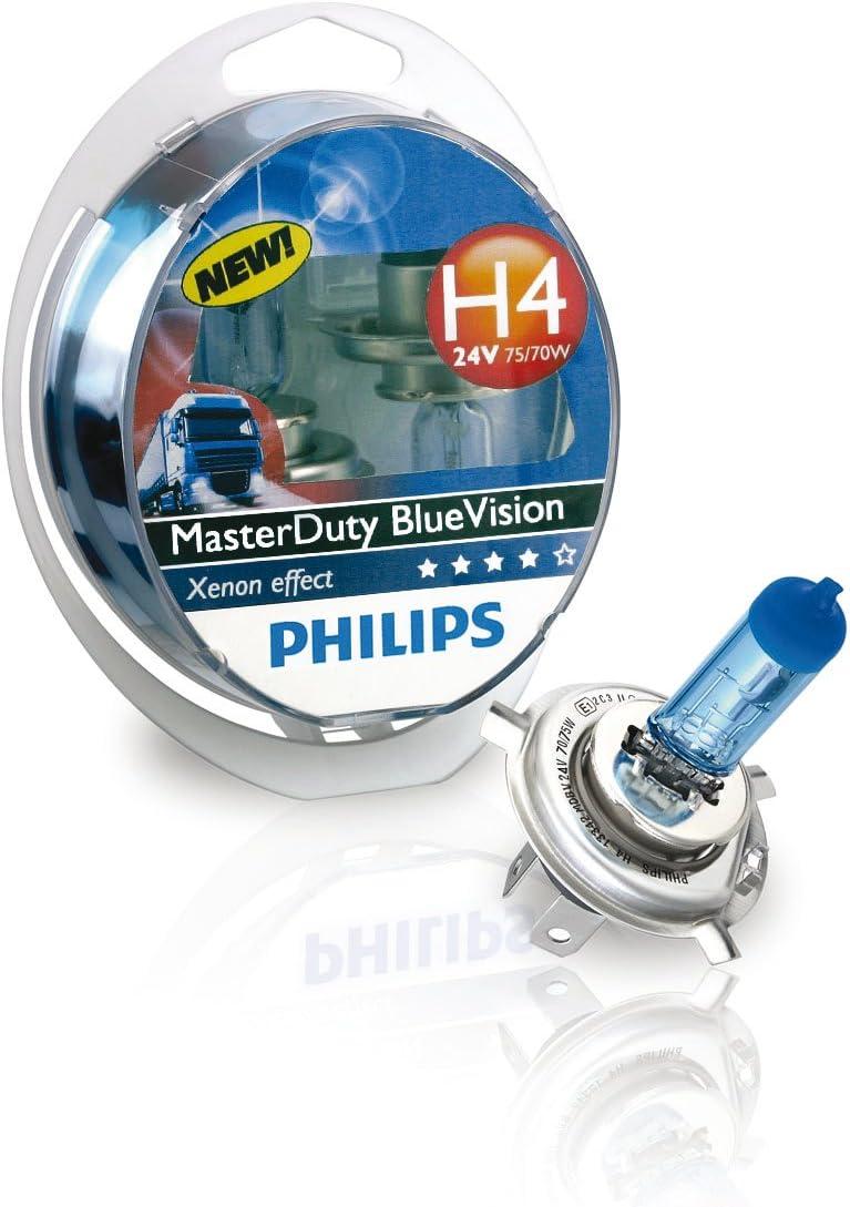 Philips 13342mdbvs2 H4 24v Master Duty Blue Vision P43t 2er Set Auto