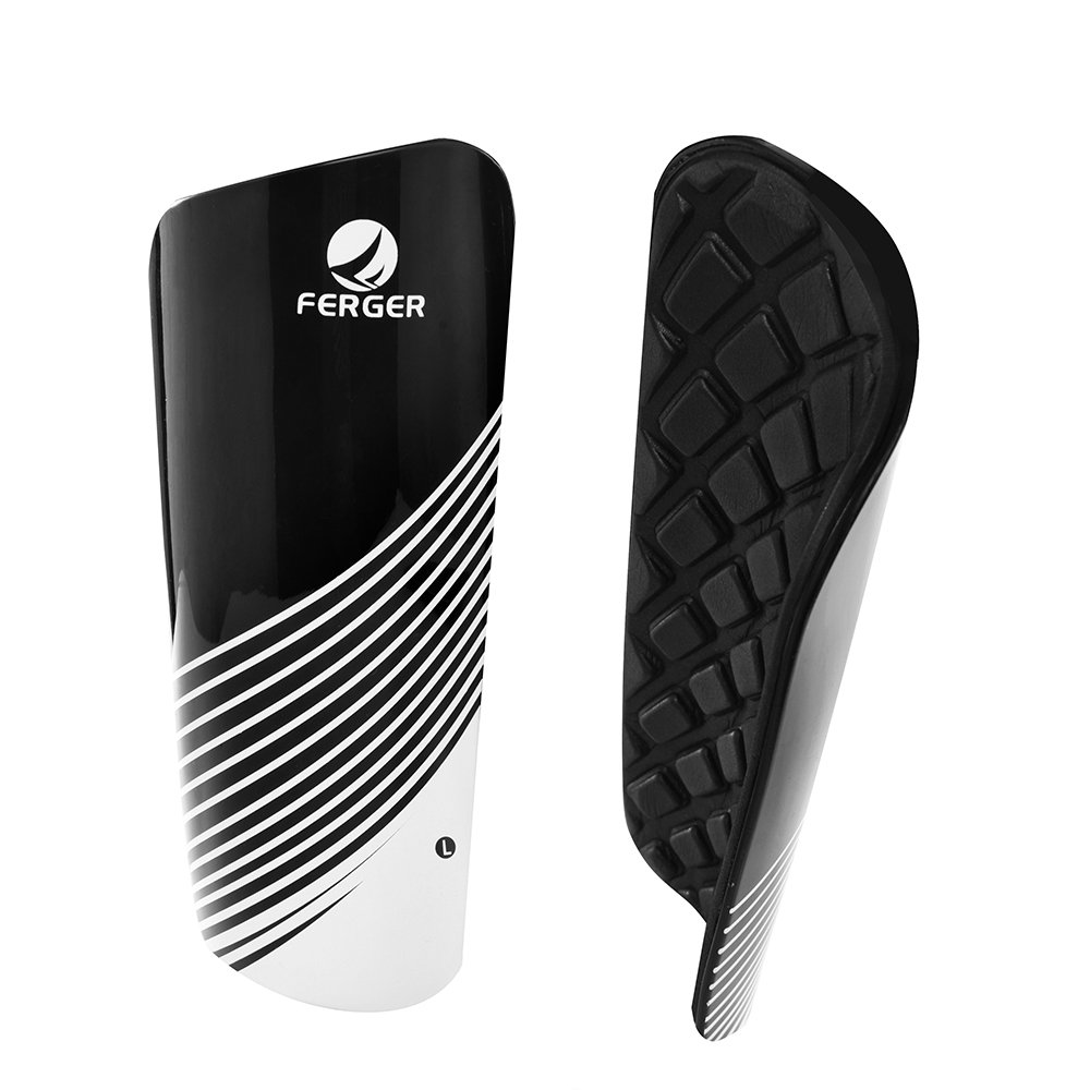 FAVORGEAR Soccer Shin Guards-Youth Sizes Performance Soccer Shin Pad Includes Compression Calf Sleeves Lightweight and Breathable Soccer Shin Guards for 6-12 Years Old Kids /…