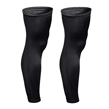 b3d04328be Compression Calf Tights Leg Sleeves Over-the-Knee Protector For Basketball  Football by Xcellent