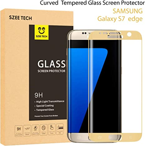 Samsung Galaxy S7 Edge Protector de pantalla [cobertura total ...