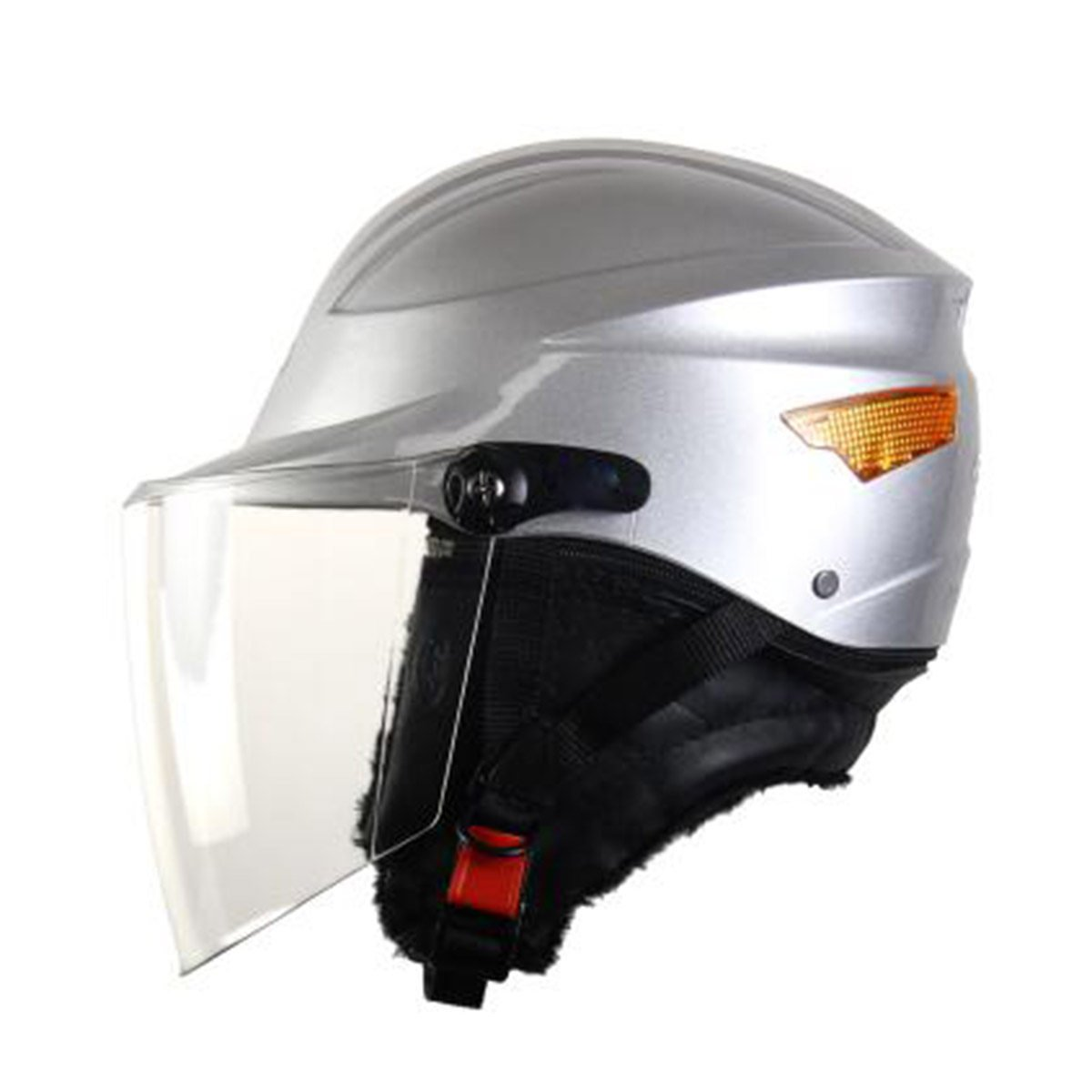 TZQ Herbst Winter Herren Damen Reiter Ritter Samt Sonnenschutz Motorrad Kopf Helm