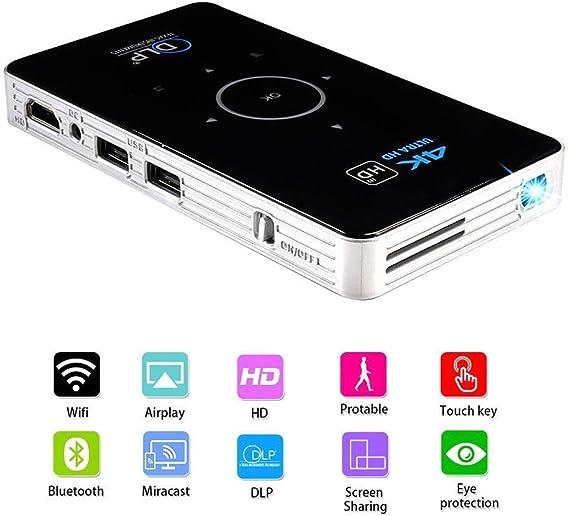 XGODY 2018 Mini DLP Projector S905 Android 5.1 Quad Core Dual Wifi 3D 4K 1080P
