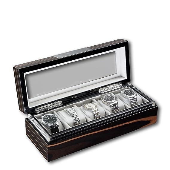 Estuche para relojes automáticos Heisse & Söhne Executive 5 ...