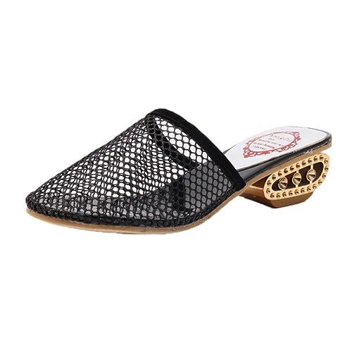 QinMM Chanclas y Sandalias de Malla Para Mujer, Zapatos de Playa de Baño Verano: Amazon.es: Zapatos y complementos