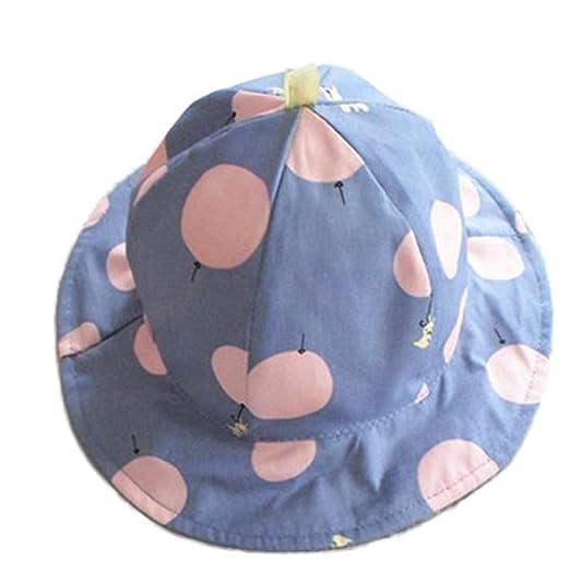 7915cd0aadbb2 Amazon.com  Freedi Sun Hat Toddler Baby Wide Brim Kids Cotton Floppy Summer  UPF Hat with Chin Strap Bow Fishing Cap  Clothing