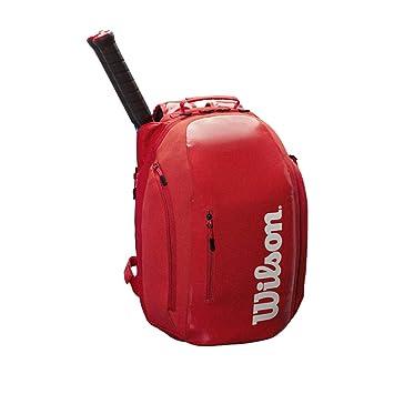 Wilson Mochila Super Tour Backpack Infrared: Amazon.es: Deportes y aire libre