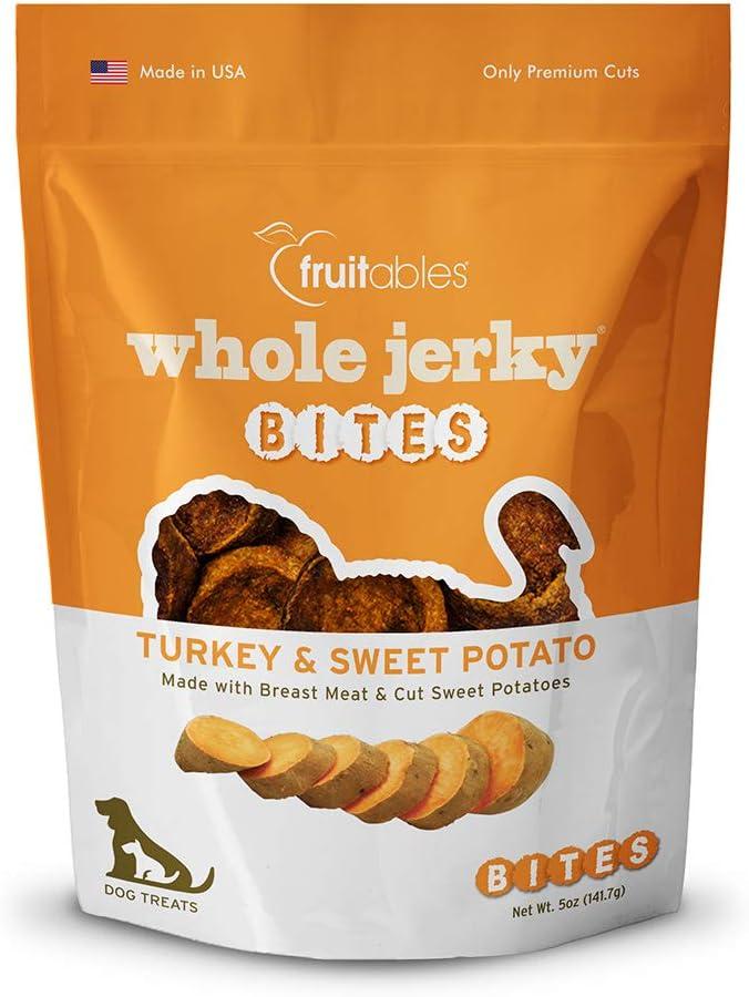 Fruitables Turkey And Sweet Potato Dog Treats, 5-Ounce