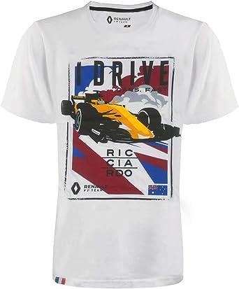 Renault F1 Team – Camiseta para hombre – Daniel Ricciardo – Oficial Fan Shirt 2019: Amazon.es: Ropa y accesorios