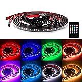 Autvivid 7 Color LED Under Car Glow Underbody System Neon Lights Kit