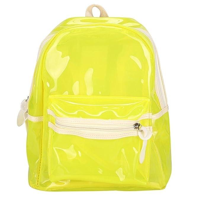 bc146f841e55 Amazon.com  2018 Transparent Jelly School Bag For Boys Girls
