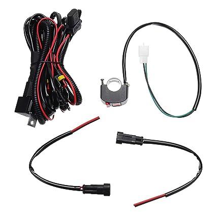 Forspero 10A Relsy Interruptor Niebla luz/Spot cableado Telar ...