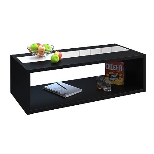 table basse noir. Black Bedroom Furniture Sets. Home Design Ideas