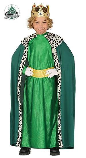 Guirca Disfraz de Rey Mago Verde para Niño: Amazon.es: Juguetes y ...